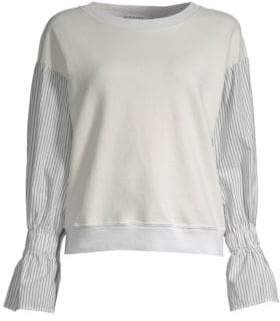 Stateside Contrast Sleeve Sweatshirt