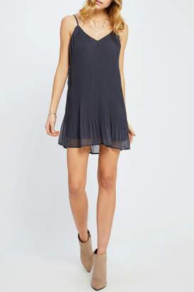 Gentle Fawn Yuna Pleated Slip Dress