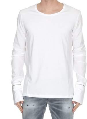 Alexander McQueen Zipped Cuffs Long-sleeve T-shirt