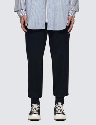 3.1 Phillip Lim Dropped Rise Tapered Sweatpant