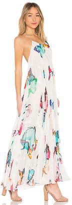 Rococo Sand Blossom Maxi Dress