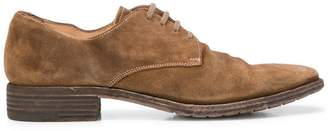 Premiata almond toe lace-up shoes