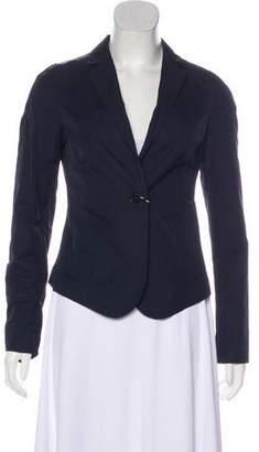 Calvin Klein Collection Fitted Woven Blazer