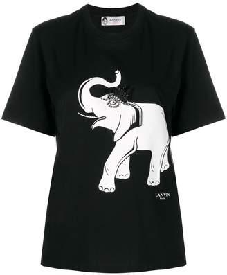 Lanvin embellished elephant T-shirt
