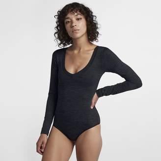 fd6abf8f7b Nike Women's Long Sleeve Bodysuit Hurley Reversible