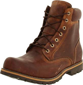 """Timberland Men's Earthkeepers Rugged 6"""" Boot Copper Roughcut Boot 10.5 EE - Wide"""