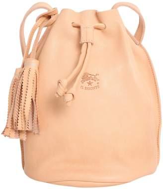 Il Bisonte Leather Bucket Bag