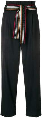 Parker Chinti & wide leg trousers
