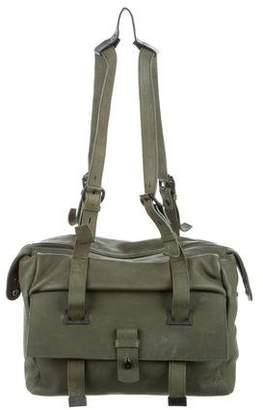 OSKLEN Leather Messenger Bag