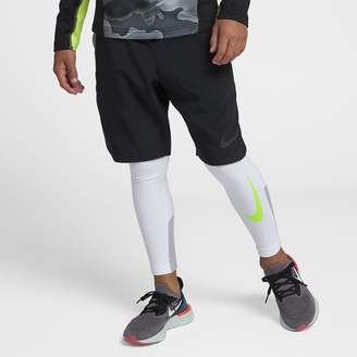 Nike Pro Warm Big Kids' (Boys') Training Tights