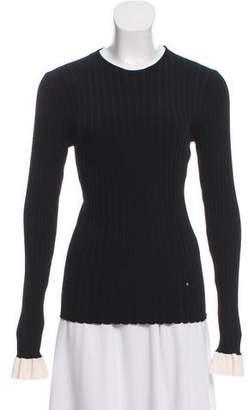 Esteban Cortazar Ribbed Long Sleeve Sweater w/ Tags