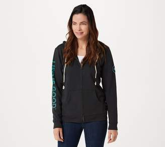 Life is Good Simply True French Terry Zip Hoodie