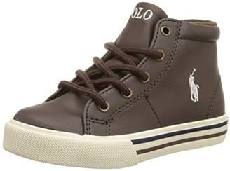 Polo Ralph Lauren Scholar Mid Fashion Mid Top Sneaker (Toddler/Little Kid/Big Kid)
