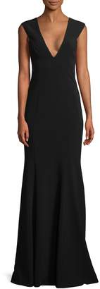 Jay Godfrey Women's Victoria Cut-Out Back Gown