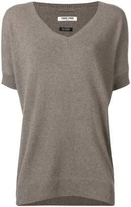 Max & Moi short-sleeve v-neck sweater