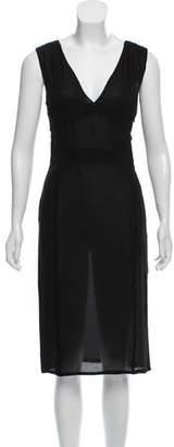 Altuzarra Semi-Sheer Midi Dress