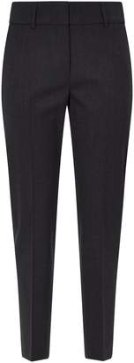 Piazza Sempione Pleated Wool-Blend Trousers