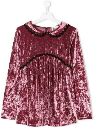 Douuod Kids TEEN velvet dress
