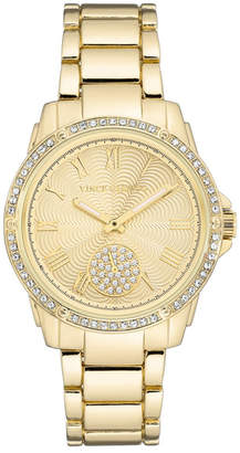 Vince Camuto Women's Czech Crystal Embellished Bracelet Watch, 36mm
