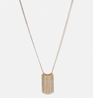 Avenue Mixed Metal Fringe Necklace