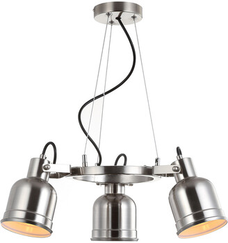 Jonathan Y Designs Liam 20In 3-Light Metal Led Pendant