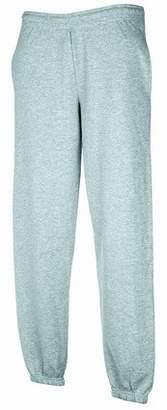 Fruit of the Loom Mens Elasticated Cuff Jog Pants / Jogging Bottoms (XL)
