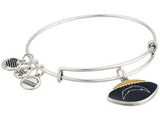 Alex and Ani Color Infusion Los Angeles Chargers Football Bangle