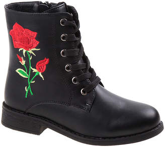 KensieGirl Kensie Girls' Black Rose Boot