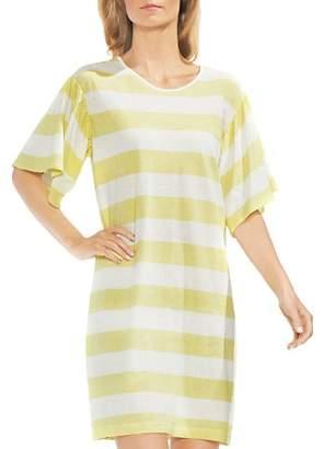 Vince Camuto Bell Sleeve Stripe Dress