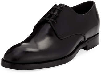 Dolce & Gabbana Smooth Lace-Up Dress Shoe