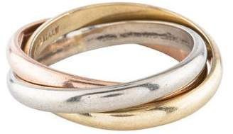 Ring 14K Tri-Color Rolling