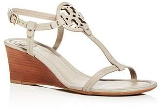 Tory Burch Women's Miller T-Strap Wedge Sandals