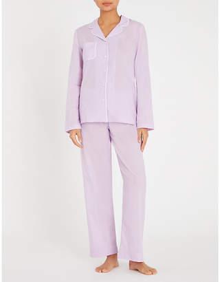 Derek Rose Amalfi cotton pyjama set