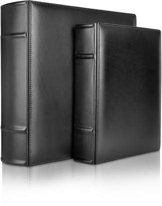 Pineider Power Elegance - Black Calf Leather Photo Album