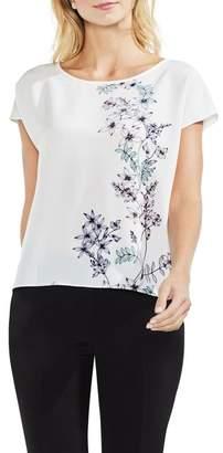 Vince Camuto Floral Print Blouse (Regular & Petite)