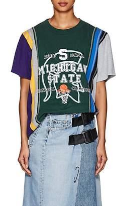 Needles Women's 7 Cuts Cotton College T-Shirt
