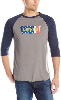 Levi's Men's Harris Baseball Jersey with Print