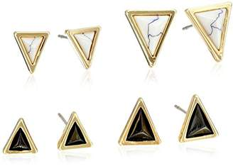 House Of Harlow Howlite Meteora Set Stud Earrings