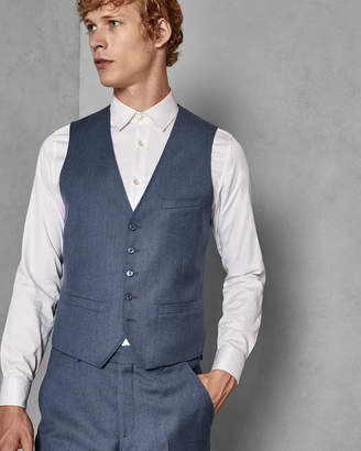 3bcb9381e3e338 Ted Baker KAMCHAW Skinny fit wool waistcoat