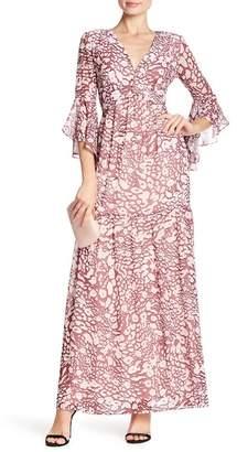 Badgley Mischka Leo Sleeveless Maxi Dress