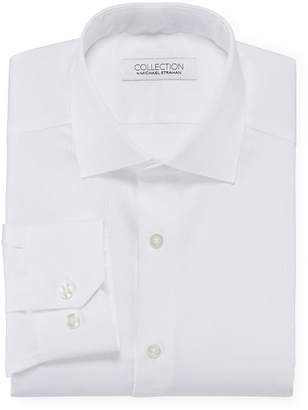 COLLECTION Collection by Michael Strahan Cotton Stretch Dress Shirt