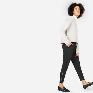 The Japanese GoWeave Zip Track Pant $115 thestylecure.com