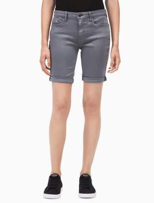 Calvin Klein denim twill city shorts