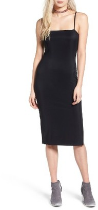 Women's Leith Stretch Midi Tube Dress $55 thestylecure.com