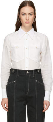 Isabel Marant White Naria Shirt