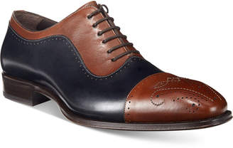 Mezlan Men's Alex Cap-Toe Oxfords, Only at Macy's $295 thestylecure.com