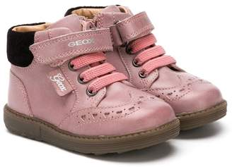 Geox Kids lace-up boots