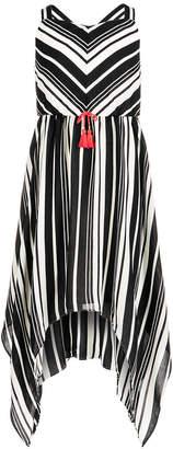 Sequin Hearts Big Girls Striped Maxi Dress