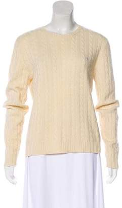 Lauren Ralph Lauren Cable Knit Crew Neck Sweater