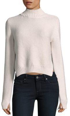 BCBGMAXAZRIATurtleneck Long Sleeve Pullover